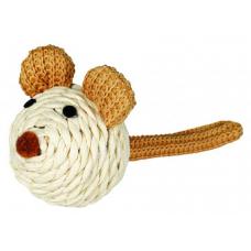 TRIXIE 45758  Мышь плетеная 5 см