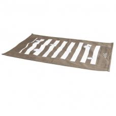 """TRIXIE 46005  Игровая подстилка для котов """"Cat Activity""""  с отверстиями 70х50 см  коричневая с кремовым"""
