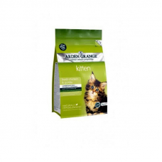 Корм Arden Grange 2 кг, для котят со свежей курицей и картофелем беззерновой