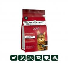 Корм Arden Grange 2 кг, для кошек со свежей курицей и картофелем  беззерновой