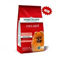 Arden Grange Mini Adult (Арден Гранж, сухой корм для взрослых собак мелких пород со свежей курицей и рисом), 2 кг