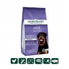 Сухой корм Arden Grange (Арден Гранж) 2 кг, для взрослых собак крупных пород со свежей курицей и рисом
