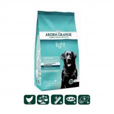 Сухой корм Arden Grange (Арден Гранж) 12 кг, для взрослых собак диетический со свежей курицей и рисом (низкокалорийный)