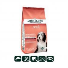 Сухой корм Arden Grange (Арден Гранж) 12 кг, для взрослых собак с чувствительным желудком и кожей со свежим лососем и рисом