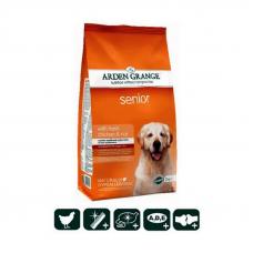 Корм сухой Arden Grange для собак преклонного возраста со свежей курицей и рисом, 2 кг