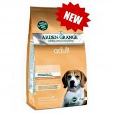 Корм сухой Arden Grange для взрослых собак со свежей свининой и рисом, 12 кг