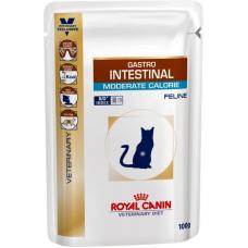 Royal Canin GASTRO INTESTINAL MODERATE CALORIE FELINE Pouches 100 г  12 шт