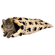 Trixie 42964 Шелестящий мешок для кошек бежевый 60*33*27