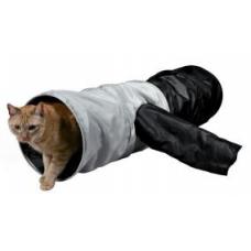 Trixie 4302 Тоннель для кошки, шуршащий, 115 см, 30 см