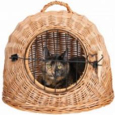 Купить TRIXIE 2871 Переноска-контейнер для кошек плетенная  50 см Фото 1 недорого с доставкой по Украине в интернет-магазине Майзоомаг