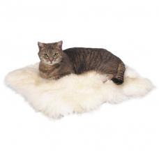 Купить Trixie 2851 Коврик меховой белый 45*45 см Фото 1 недорого с доставкой по Украине в интернет-магазине Майзоомаг