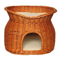 Купить Trixie 2874 Дом плетеный двухэтажный 54*43*37 см Фото 1 недорого с доставкой по Украине в интернет-магазине Майзоомаг