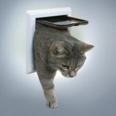 Trixie 38601 Дверца для кошки 2 позиции