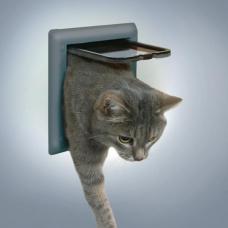 Купить Trixie 38602 Дверца для кошки 2 позиции Фото 1 недорого с доставкой по Украине в интернет-магазине Майзоомаг
