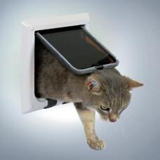 Trixie 38621 Дверца для кошки 4 позиции