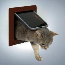 Trixie 38623 Дверца для кошки 4 позиции