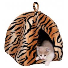 """Купить Trixie 36345 Домик """"Nelo"""" тигровый Фото 1 недорого с доставкой по Украине в интернет-магазине Майзоомаг"""