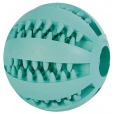 Купить Trixie 3289 Denta Fun Spielzeug -Мяч для чистки зубов с ароматом мяты, 7 см Фото 1 недорого с доставкой по Украине в интернет-магазине Майзоомаг