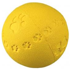 Купить TRIXIE 34862  МЯЧ С ПИЩАЛКОЙ С РИСУНКОМ  TOY BALL    7 см Фото 1 недорого с доставкой по Украине в интернет-магазине Майзоомаг