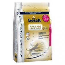 Корм для взрослых собак мелких пород Bosch (Бош) ADULT MINI LIFE & CARE, 3,75 кг.