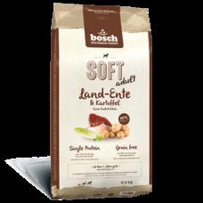 Купить Сухой корм для собак Bosch (Бош) SOFT Land-Ente & Kartoffel (утка+картофель), 12,5 кг Фото 1 недорого с доставкой по Украине в интернет-магазине Майзоомаг
