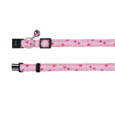 Trixie 41687 Ошейник для котят, нейлон, розовый