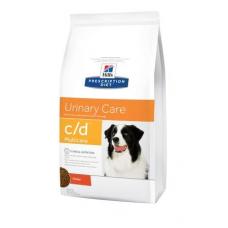 Hills Prescription Diet Canine C-D - Хиллс лечебный корм для собак (профилактика и лечение мочекаменной болезни), 12 кг