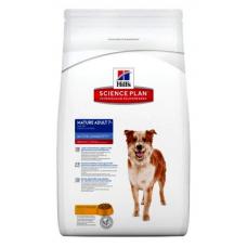 Cухой корм Hills (Хиллс) для собак, с курицей, mature adult 7+ medium, 12 кг