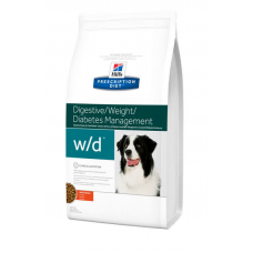 HILLS (ХИЛЛС) PRESCRIPTION DIET™ CANINE W-D™ С КУРИЦЕЙ 1,5 кг