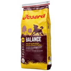 JOSERA (ЙОЗЕРА) BALANCE -СУХОЙ КОРМ ДЛЯ ПОЖИЛЫХ И МАЛОАКТИВНЫХ СОБАК, 15 кг