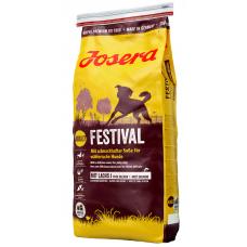 Josera Festival - Йозера Фестивал, сухой корм для привередливых собак (лосось и рис в изысканном соусе), 15 кг