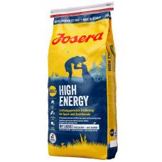 Сухой Корм Josera (Йозера) для собак для активных, спортивных собак, High Energy, 15 кг