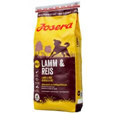Сухой Корм Josera (Йозера) для взрослых собак с ягненком и рисом, LAMB & RICE,  15 кг