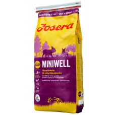 Сухой Корм Josera (Йозера) для взрослых собак мелких пород, miniwell, 15 кг