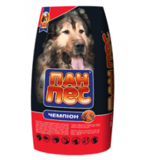 "Пан-пес ""Чемпион"", сухой корм для собак с повышенным колличетвом протеина (10 кг)"