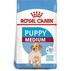 Купить Сухой корм Royal Canin (Роял Канин) 4 кг, для щенков средних пород до 12 мес., Medium Puppy Фото 1 недорого с доставкой по Украине в интернет-магазине Майзоомаг