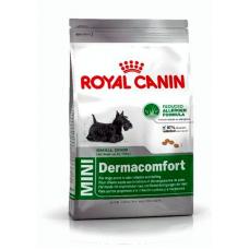 Купить Сухой корм Royal Canin (Роял Канин) 800 г, для взрослых собак при признаках аллергии, Mini Dermacomfort Фото 1 недорого с доставкой по Украине в интернет-магазине Майзоомаг