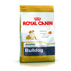 Royal Canin Bulldog Junior, (Роял Канин для породы английский бульдог от 15 мес), 3 кг
