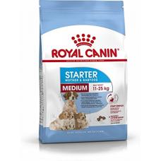 Купить Сухой корм Royal Canin (Роял Канин) 12 кг, для беременных и кормящих сук, первый прикорм для щенков, Medium Starter Фото 1 недорого с доставкой по Украине в интернет-магазине Майзоомаг