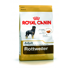 Купить Сухой корм Royal Canin (Роял Канин) 3 кг, для собак породы ротвейлер от 18 мес., Rottweiler Фото 1 недорого с доставкой по Украине в интернет-магазине Майзоомаг