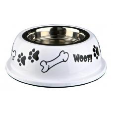 Купить Trixie 25253 Миска для собак металлическая на резине с пластиковым покрытием яркая 0,9 л 16 см Фото 1 недорого с доставкой по Украине в интернет-магазине Майзоомаг
