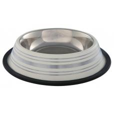 Купить Trixie 25272 Миска металл, с резинкой Фото 1 недорого с доставкой по Украине в интернет-магазине Майзоомаг