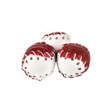 Купить TRIXIE 31440 Снек прессованные мячики из сыромятной кожи красный-белый 5 см 330 г 5 шт Фото 1 недорого с доставкой по Украине в интернет-магазине Майзоомаг