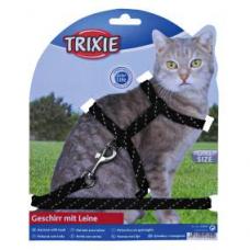 Купить Trixie 4183 Шлейка с поводком, с отражателем  18-35 см   10 мм  130 см Фото 1 недорого с доставкой по Украине в интернет-магазине Майзоомаг
