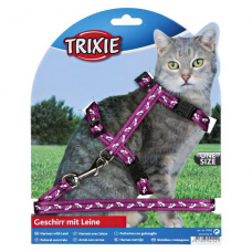Купить Trixie 4142 Шлейка с поводком для кошки 27/46  10 мм Фото 1 недорого с доставкой по Украине в интернет-магазине Майзоомаг