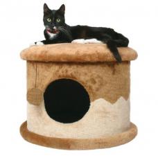 """Купить TRIXIE 4339 КОГТЕТОЧКА-ДОМИК """"Cat Hause"""" 32 см бежево коричневая Фото 1 недорого с доставкой по Украине в интернет-магазине Майзоомаг"""