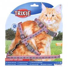 Купить Trixie 41961 Шлейка с поводком для кошки, нейлон Фото 1 недорого с доставкой по Украине в интернет-магазине Майзоомаг