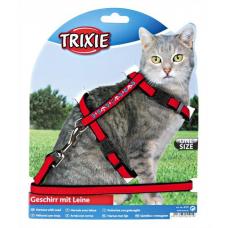 Купить Trixie 4191 Шлейка для кошки  вельвет с вышивкой  22-36 см 10 мм Фото 1 недорого с доставкой по Украине в интернет-магазине Майзоомаг
