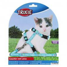 Купить Trixie 4181 Шлейка для котят, нейлон  с рисунком  21/23   8 мм Фото 1 недорого с доставкой по Украине в интернет-магазине Майзоомаг