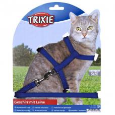 Купить Trixie 4185 Шлейка с поводком для кошки  35/45  см  10 мм Фото 1 недорого с доставкой по Украине в интернет-магазине Майзоомаг